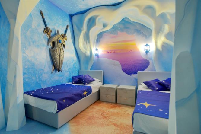 Stanze Cristallo Magico per bambini - Gardaland Magic Hotel