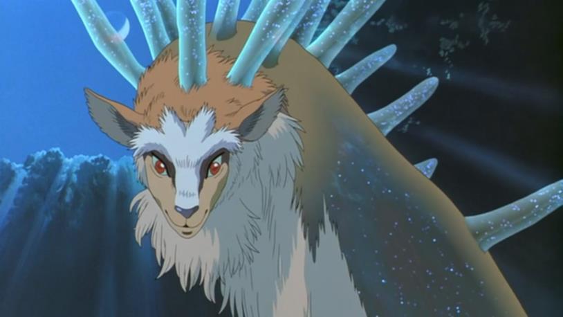 Il Kami cervo della Principessa Mononoke