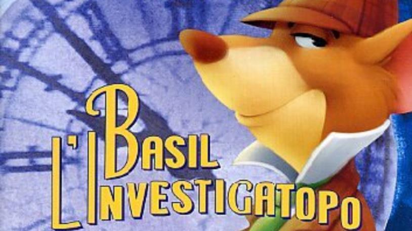 Primo piano di Basil l'investigatopo