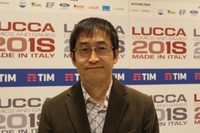 Junji Ito a Lucca 2018
