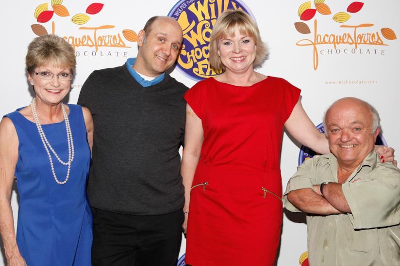 Denise Nickerson, la prima da sinistra
