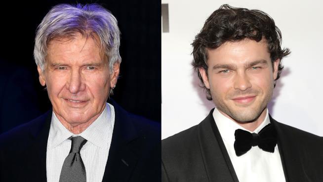Harrison Ford e Ehrenreich, solo tra universo canon e legends