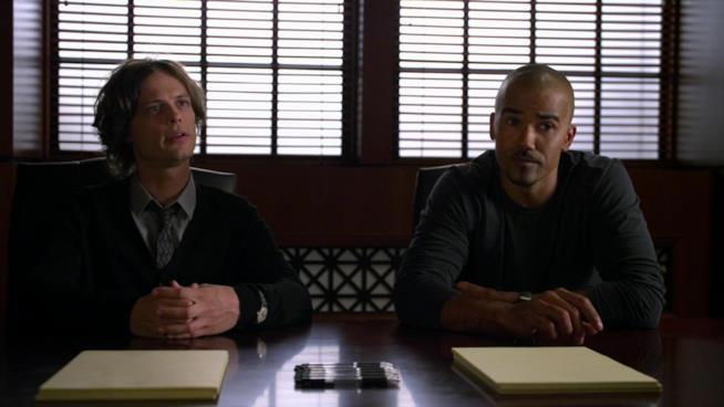 Spencer Reid e Derk Morgan in azione in Criminal Minds
