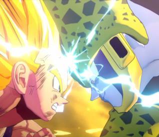 Dragon Ball Z: Kakarot saga di Cell