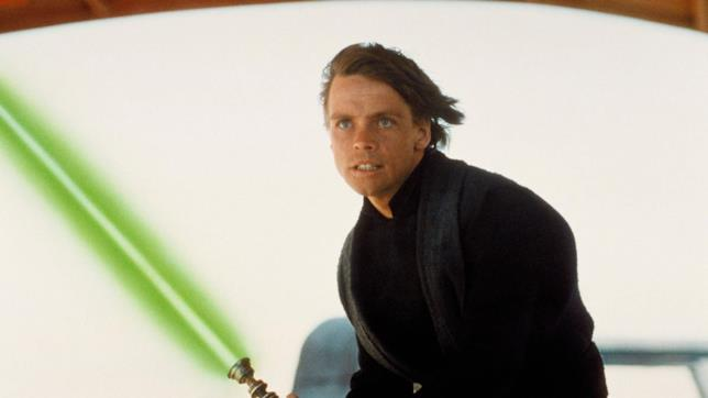 Mark Hamill nei panni di Luke Skywalker