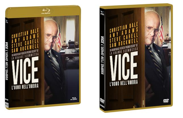 Le edizioni Home Video di Vice - L'uomo nell'ombra