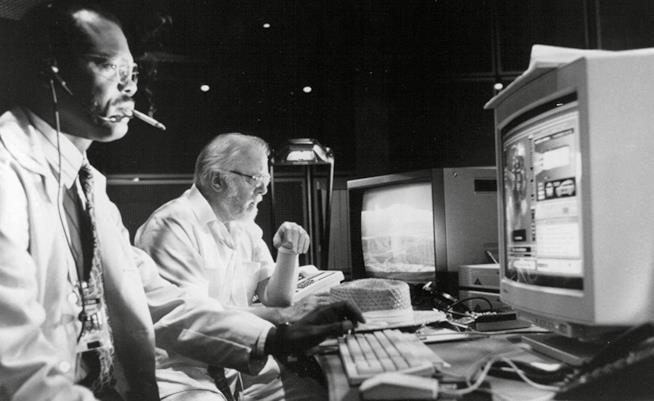 Samuel L. Jackson è l'ingegnere informatico Ray Arnold in Jurassic Park
