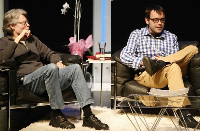 Stephen King e il figlio Owen