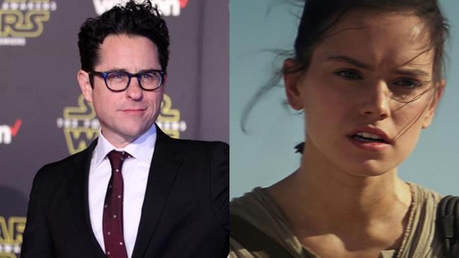 J.J. Abrams e Daisy Ridley
