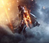 Un soldato della Prima Guerra Mondiale sulla cover ufficiale di Battlefield 1