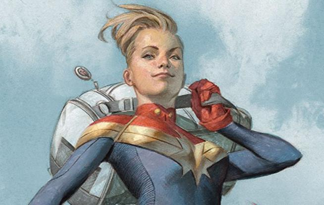 Copertina di The Life of Captain Marvel #1