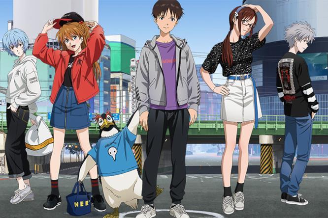 cheap for discount 3babc 4e2ee Evangelion: la collezione d'abbigliamento ispirata all'anime ...