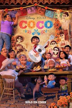 Locandina spagnola di Coco