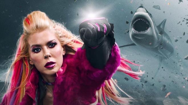 Tara Reid in Sharknado 5