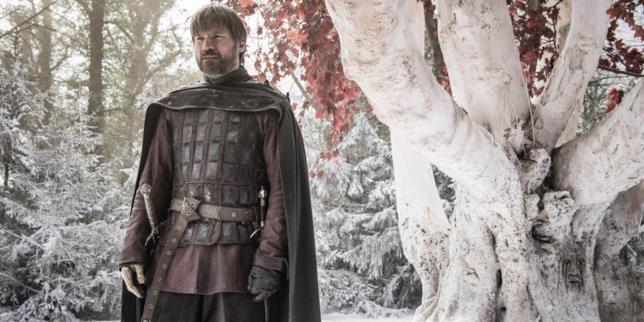 Nikolaj Coster-Waldau in Game of Thrones 8x02
