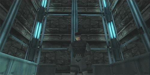 Opening di Metal Gear Solid con Solid Snake