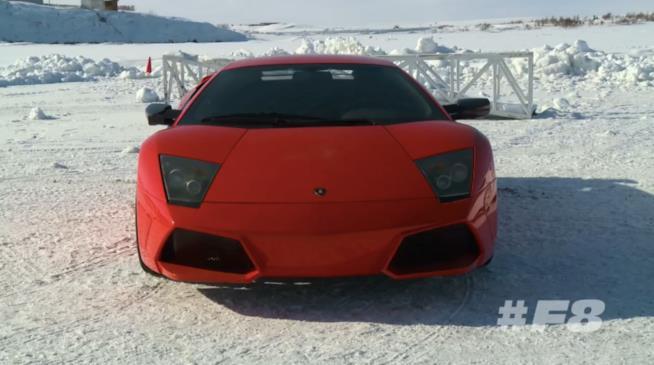 La Lamborghini sui ghiacci di Fast & Furious 8