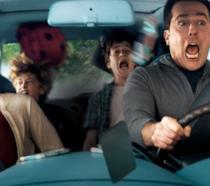 La famiglia Griswold in una scena del film