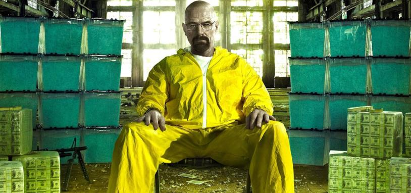 Walter White in una scena di Breaking Bad