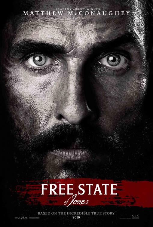 Poster ufficiale di Free State of Jones