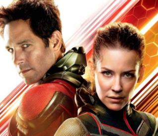 Ant-Man and the Wasp, i due eroi nel poster nel film