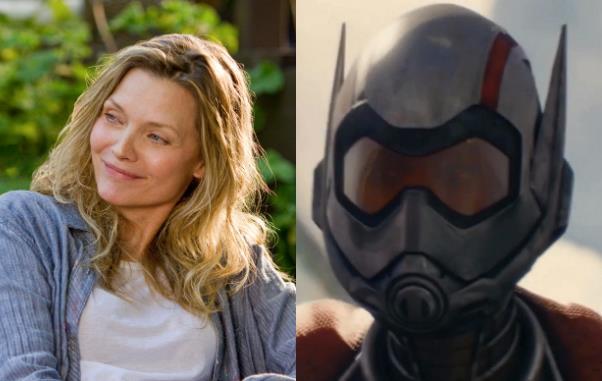 Michelle Pfeiffer in un collage con Wasp