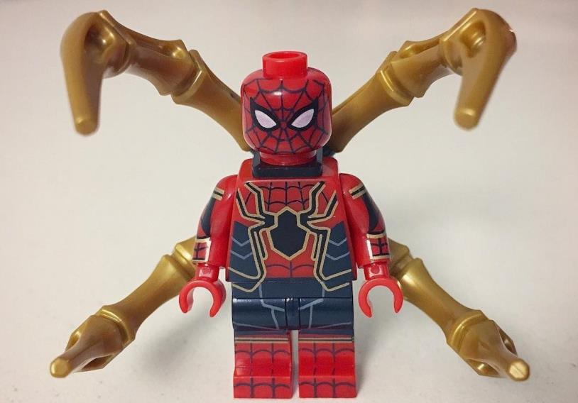LEGO Iron-Spider con nuove braccia