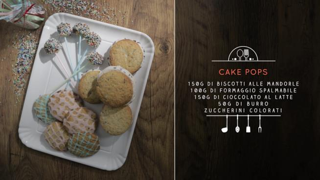 La ricetta dei cake pops