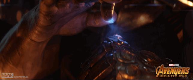 Thanos ottiene la Gemma dello Spazio