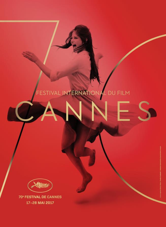 Claudia Cardinale nel poster di Cannes