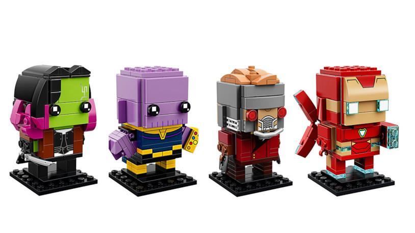 I set LEGO BrickHeadz dedicati ad
