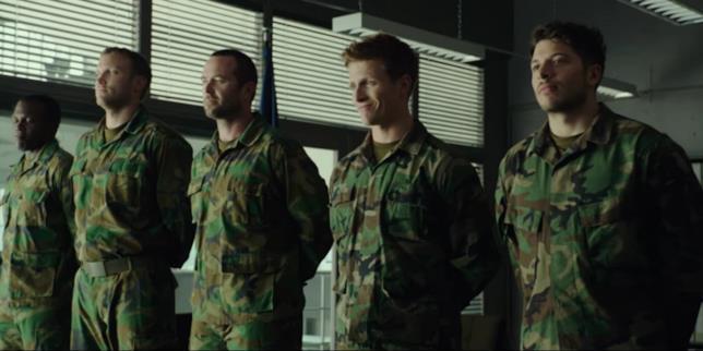 scena del film Renegades