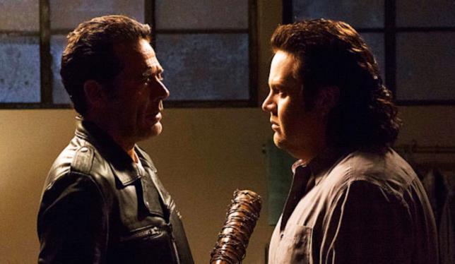 Negan e Eugene in The Walking Dead