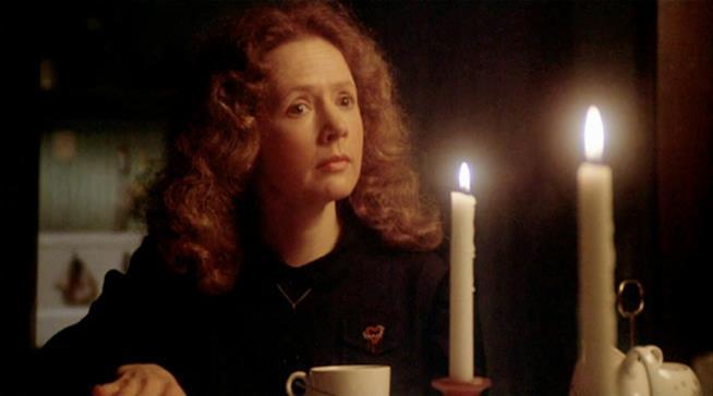 Piper Laurie nel film di Brian De Palma Carrie - Lo Sguardo di Satana