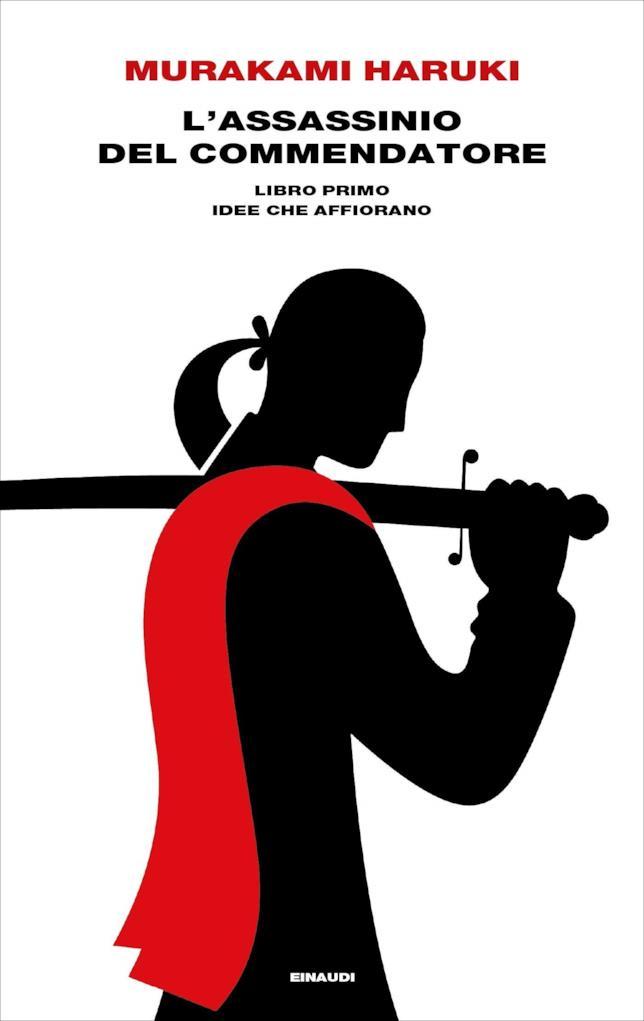 La copertina di L'assassinio del Commendatore