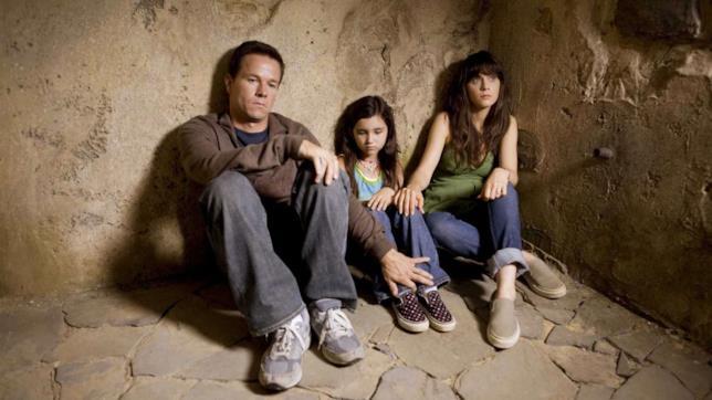 I tre protagonisti in una sequenza del film E venne il giorno
