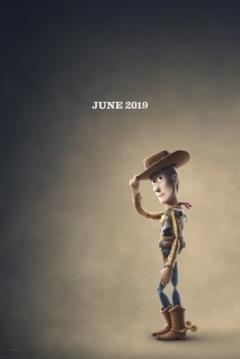 Woody nel character poster di Toy Story 4
