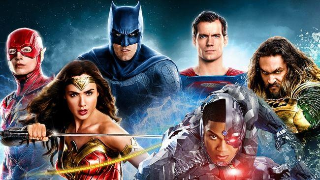 La Justice League al gran completo