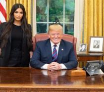 Kim Kardashian e Donald Trump
