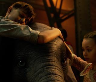 Il poster di Dumbo
