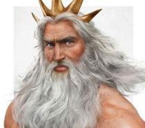 Ariel e suo padre, il re Tritone