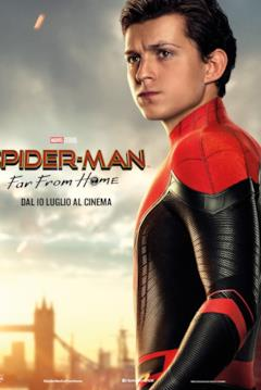 Il character poster di Peter Parker per Spider-Man: Far From Home