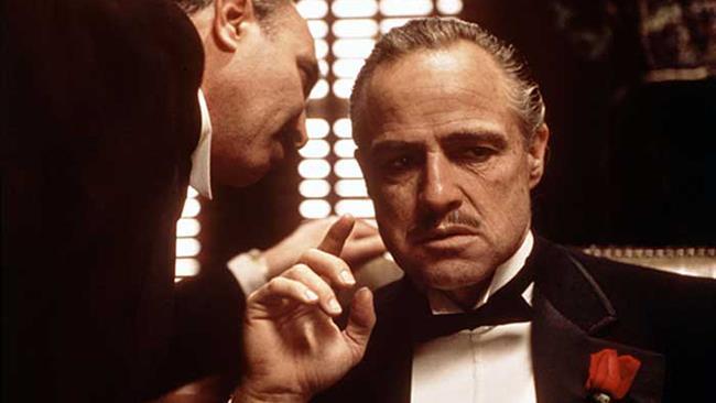 Marlon Brando nei panni di Vito Corleone