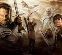 Un'immagine promozionale dei film de Il Signore degli Anelli