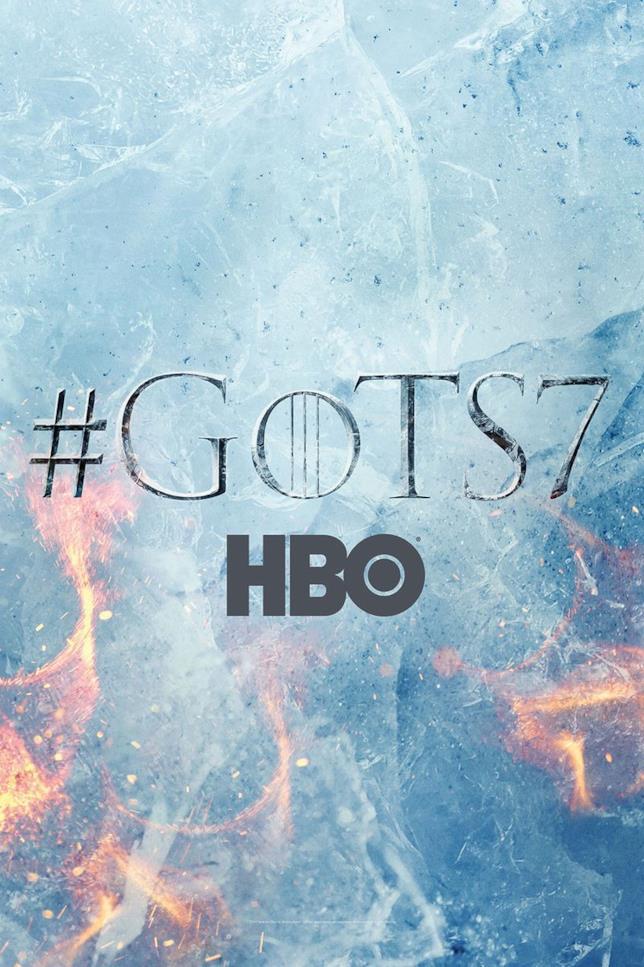 Poster della stagione 7 di Game of Thrones