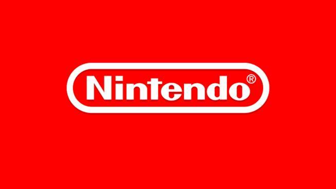 Il celebre logo rosso e bianco di Nintendo