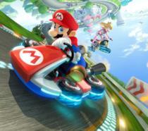 Un'immagine promozionale di Mario Kart 8