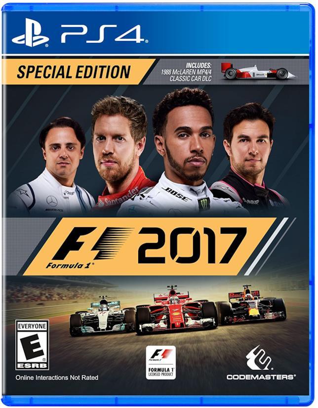 F1 2017 in uscita ad agosto