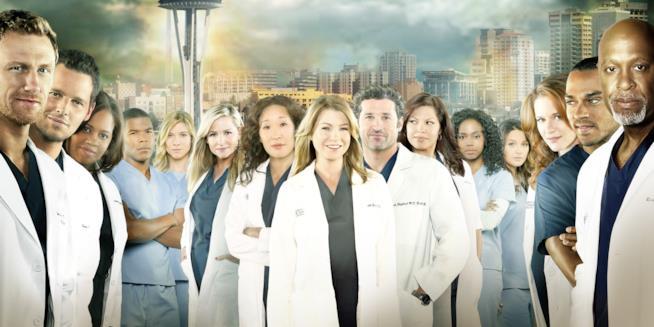 Il cast di Grey's Anatomy subisce modifiche in ogni stagione