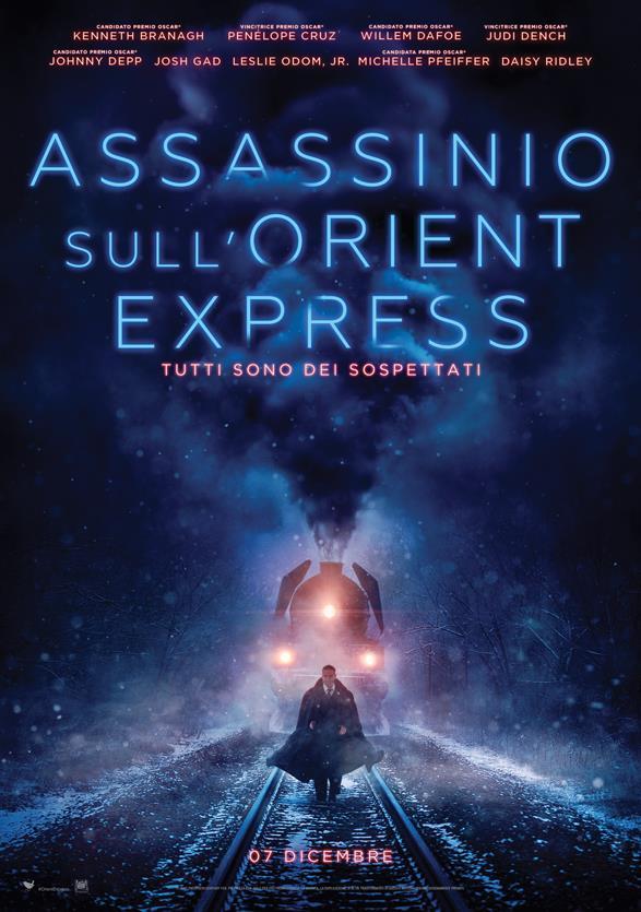 Il primo poster di Assassinio sull'Orient Express rilasciato da 20th Century Fox